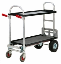 Magliner Junior Hand Truck w/ 2 Shelves