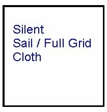 Modern Studio 8x8 Silent Sail / Full Grid Cloth w/Bag