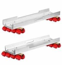 Modern Studio Skateboard Wheels with Channels Set of 2 Soft Wheels