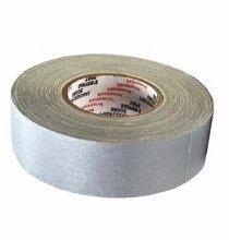 "Permacel / ShurTape 2"" Gray Gaffers Tape Roll Pro Grade P672-G"