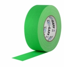 Pro-Gaff Chroma Key Green Screen Gaffers Tape
