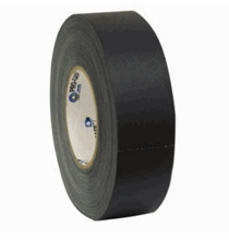 """Pro Gaff Tape Black Gaffer Tape 2""""x55yds"""