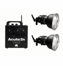 Profoto Acute2R 1200 Value Pack (2) D4 & (1) Acute2R 1200
