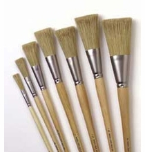 """Rosco 1 1/4"""" Wide Iddings Fitch Paint Brush"""