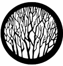 Rosco Bare Branches Steel Gobo 77735