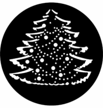 Rosco Christmas Tree Steel Gobo 77227