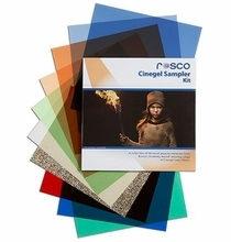 "Rosco Cinegel Sampler Gel Filter Pack (15) Sheets 12""x12"""