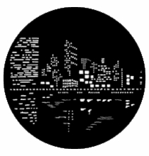Rosco City Lights 2 79023 Standard Steel Gobo