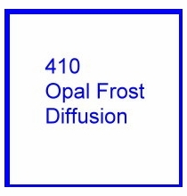 Rosco E Colour 410 Opal Frost Diffusion Gel Sheet