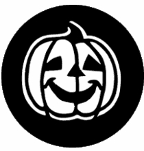 Rosco Happy Pumpkin 78105 Standard Steel Gobo