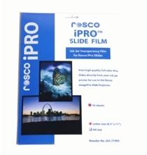 Rosco Image Pro iPro Slide Film 10 Sheet  Pack