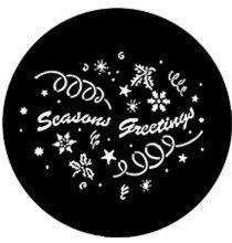 Rosco Seasons Greetings Steel Gobo 77983