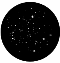 Rosco Star Cluster Steel Gobo 77514
