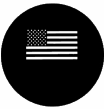 Rosco Stars and Stripes Steel Gobo 77870