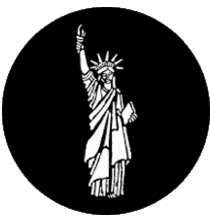 Rosco Statue of Liberty 77307 Standard Steel Gobo