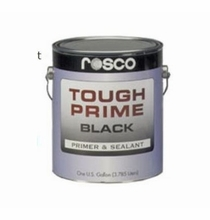 Rosco Tough Prime Paint Black Gallon Primer