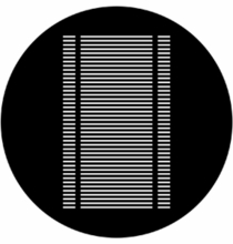 Rosco Venetian Blind 77702 Steel Gobo