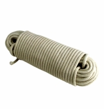 Sash Cord # 10  Cotton  100ft  White