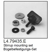 Stirrup Mounting Set / Tilt Lock Knob Set  L4.79435.E