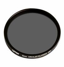 Tiffen 62mm Circular Glass Polarizer Filter, 62CP