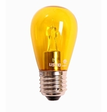 Ushio S14 Yellow LED Utopia Lamp 2W Medium Base