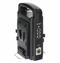 Volta Compact Dual V-Mount Li-Ion Battery Charger w/ 4 Pin XLR Out