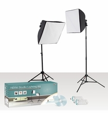 Westcott Home Photo Studio Fluorescent Daylight Lighting Kit w/  DVD, 407