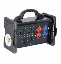 Lex Bento Box 30A 3 Phase NEMA, Feed Thru, Twist Lock / Edison