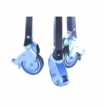 "Matthews Minivator Crank Stand Wheel Set 4"""