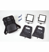 Rosco LitePad Vector CCT LED BackPack 2 Light Kit - BiCOLOR