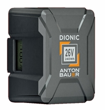 Anton Bauer Dionic 26V 240wh Gold Mount Plus Battery