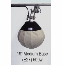 "JemBall 19"" Medium Base 500W Tungsten | Rip Stop"