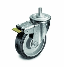 Manfrotto Wheel Set, 160Mm With Brakes (Special Order Only) 374