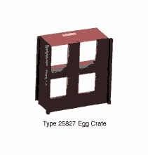 Mole Richardson Baby Soft Light Egg Crate 25827