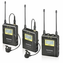 Saramonic 96-Ch Digital UHF Wireless Lavalier Microphone