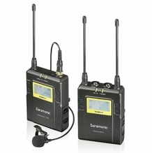 Saramonic 96-Channel Digital UHF Wireless Lavalier Microphone