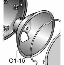 LOWEL LIGHTING ACCESSORIES AND PARTS OMNI #1 REFLECTOR 01-15