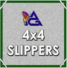 4'x4' SLIPPER / Double Net - Black  w/ Pouch  S0404.02
