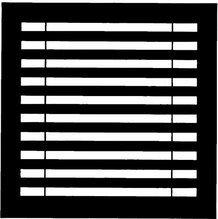 """Chimera Horizontal Blinds Micro Window Pattern 16""""x16""""   5325"""