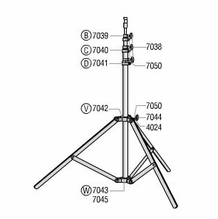 Lowel Omni Light Stand Parts  O1-33