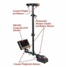 Steadicam Pilot HD Camera Stabilizer Anton Bauer Mount 2-9 lbs