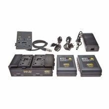 Kino Flo Dual Block Battery System 140whr 28.8V