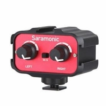 Saramonic Universal Audio Adapter (Stereo, Dual Mono 3.5mm Inputs)