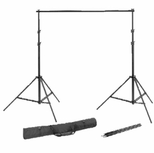 Superior Seamless Paper Deluxe Background Stand Support Kit