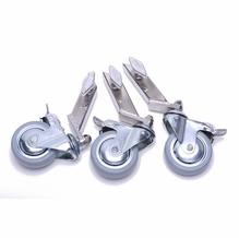 """American Wheel Set of 3 Dana Dolly Combo Stand with 3/4"""" Leg"""