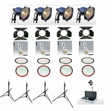 Arri 750+ 4  Arrilite Heavy Duty Kit,  LK.0005641
