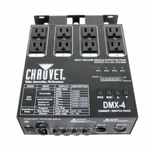 Chauvet DMX 4 Channel Dimmer / Relay Pack