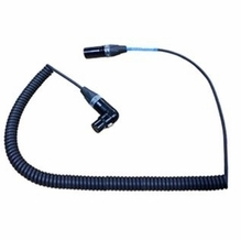 Coiled XLR Cables