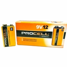 Duracell ProCell 9V 9 Volt Alkaline Battery - 12 Pack