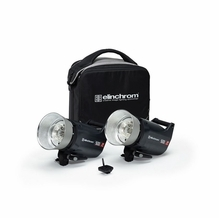 Elinchrom ELC Pro HD Compact 500/500 ws (2) Light Kit